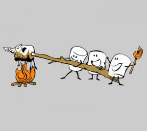 Funny Marshmallow Pics