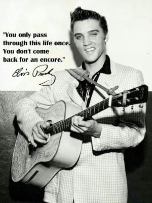 15 Great Elvis Presley Quotes