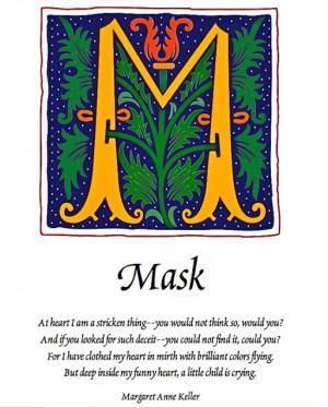 Mask, by Margaret Anne Keller