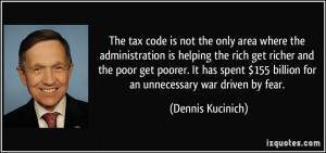 The tax code is not the only area where the administration is helping ...