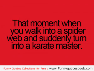 Funny quotes about Spider web