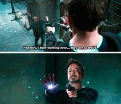 Lol hahaha funny pics / pictures / Iron Man 3 Quote