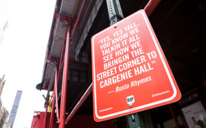 ... rap quotes artist jay shells installed street signs quoting famous rap