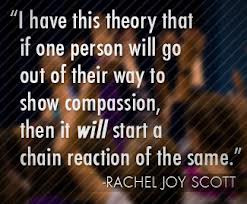 Through Rachel's Challenge, students will become empowered to combat ...
