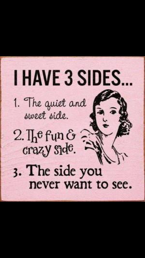 Split personality disorder!