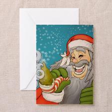 santa_notext Greeting Card for
