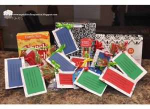 Our 12 days of christmas items were mostly teacher supplies & a few ...