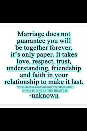 Quotes About Making a Marriage Work