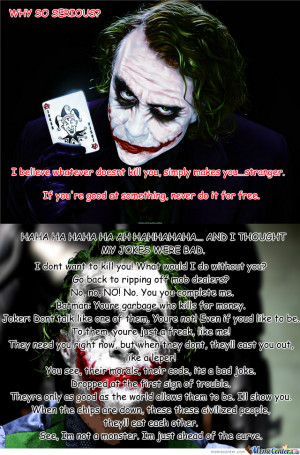 Just Some Joker Quotes #1