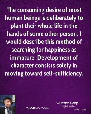 Quentin Crisp Life Quotes