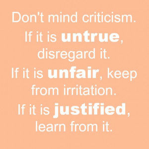 How to deal with criticism in blogging- the post details how to ...
