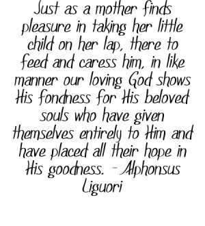 Quote by Alphonsus Liguori