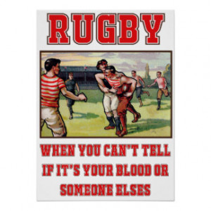 Funny Rugby Art