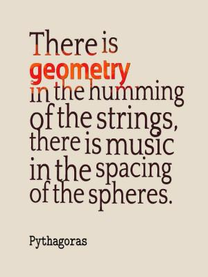 Sacred Geometry Symbols Rediscovered - Pythagoras #quote