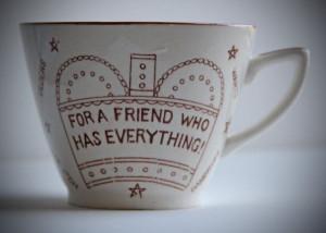 50s Vintage Hypochondriac Cup Coffee Mug