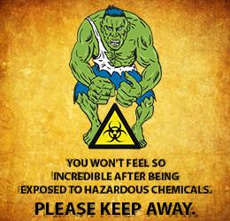 Biohazard safety slogan wording