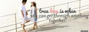 cute true love quotes facebook cover