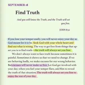 Find Truth ... for the truth will set you free ... John 8:32