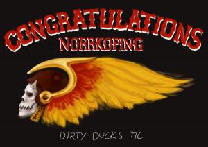 Hells Angels Congratulation...