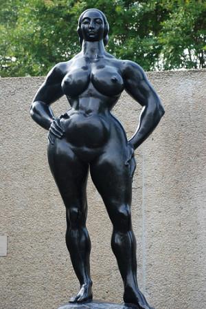 Gaston Lachaise Americain n Paris 1982 1935 Standing woman