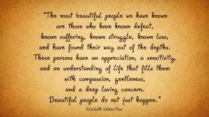 Kubler Ross Elisabeth Quote