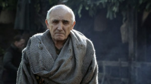 Maester Luwin: A good lord comforts and protects the weak and helpless