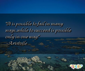 40 quotes about failing follow in order of popularity. Be sure to ...