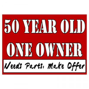 CafePress > Wall Art > Posters > 50th Birthday Poster