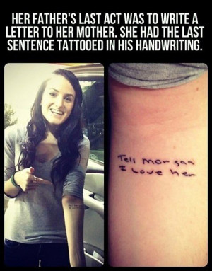 most meaningful tattoo ever. random