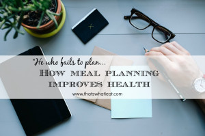 """planning to fail."""" You've heard this quote from Winston Churchill ..."""