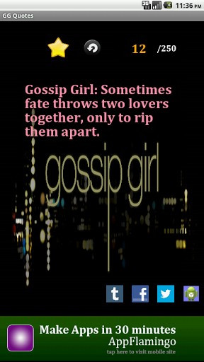 Tags: girl quotes, gossip quotes.