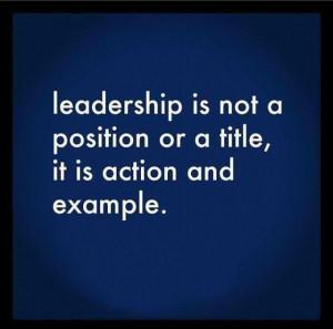 Good Leadership = success