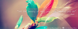 Let the beauty..' Islamic Cover Photo
