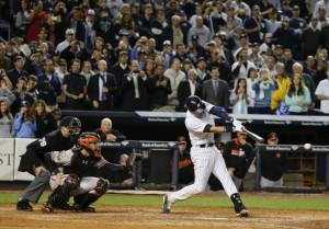 Derek Jeter hit the winning run for his perfect Yankee Stadium finale