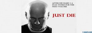 funny movies die hard bruce willis facebook cover