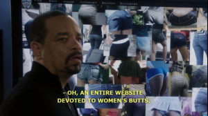 butts svu Ice T law and order