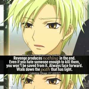 Here are some quotes said by some pretty awesome anime characters. I ...
