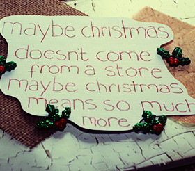 Beautiful Christmas Quotes & Sayings