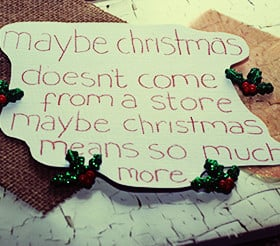 Beautiful Christmas Quotes & Sayings