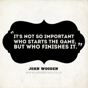 Sports Quotes / #johnwooden #sports #quotes #sportsquotes