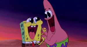 friends, friendship, love, patrick star, spongebob, spongebob ...