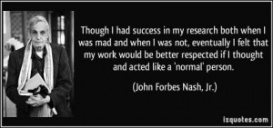 More of quotes gallery for John Forbes Nash's quotes