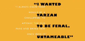 ... Eco-Warrior: Andy Briggs Talks Tarzan, Logging and the Great Apes
