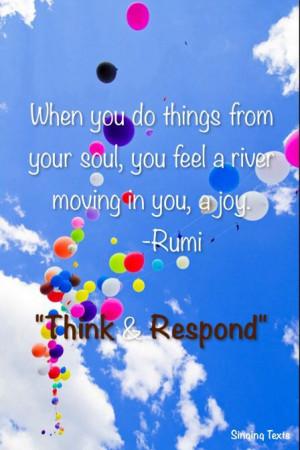 joy #Rumi #quote #happy