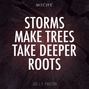 Storms make trees take deeper roots... #miche #quotes #inspiration # ...