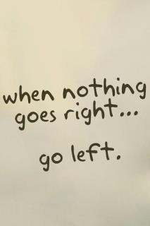 Cuando nada sale a derechas... ;)