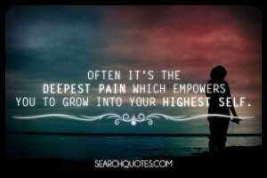 quotes about overcoming pain
