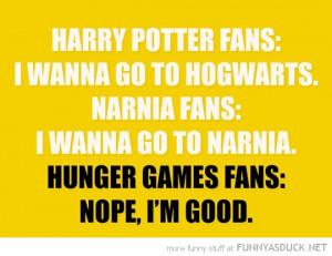 Harry Potter Hunger Games...