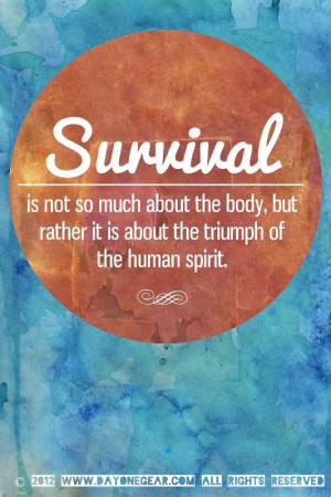 survival quotes june 8 2014