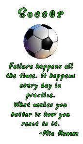 soccer stuff girls coaches corner mia hamm soccer life favorite quotes ...